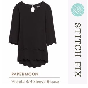 Papermoon STITCH FIX Violeta 3/4 Sleeve Blouse